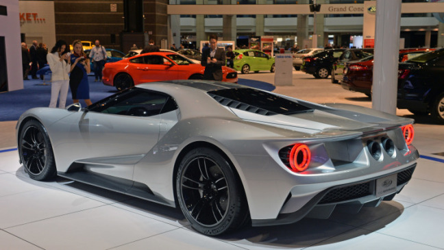 At The  Geneva Motor Show Another Ford Gt Was Acquainted And Is Set With Be Delivered And Discharged In  It Will Check A Long Time Since The Gt