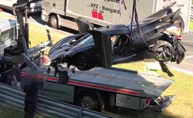 Koenigsegg The One Has Been Mauled In What May Be The Most
