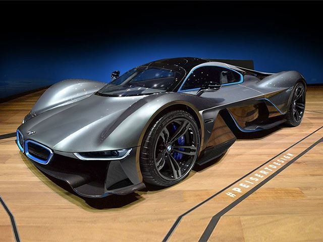 Bmw Planning On Utilizing The Aston Martin Valkyrie Hypercar Concept