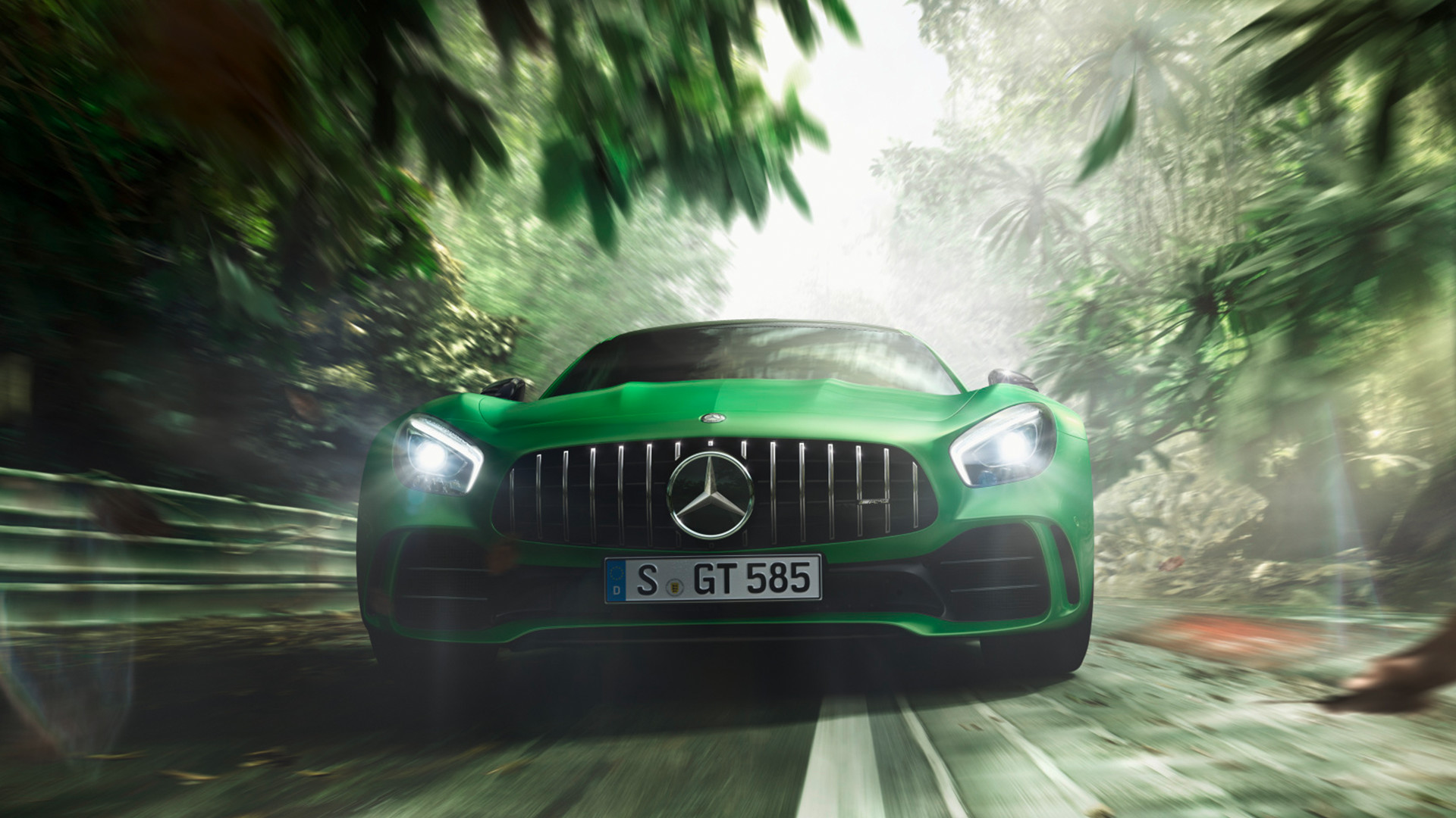 Mercedes Amg Gt R Is Going Straight For A Nurburgring Track Record