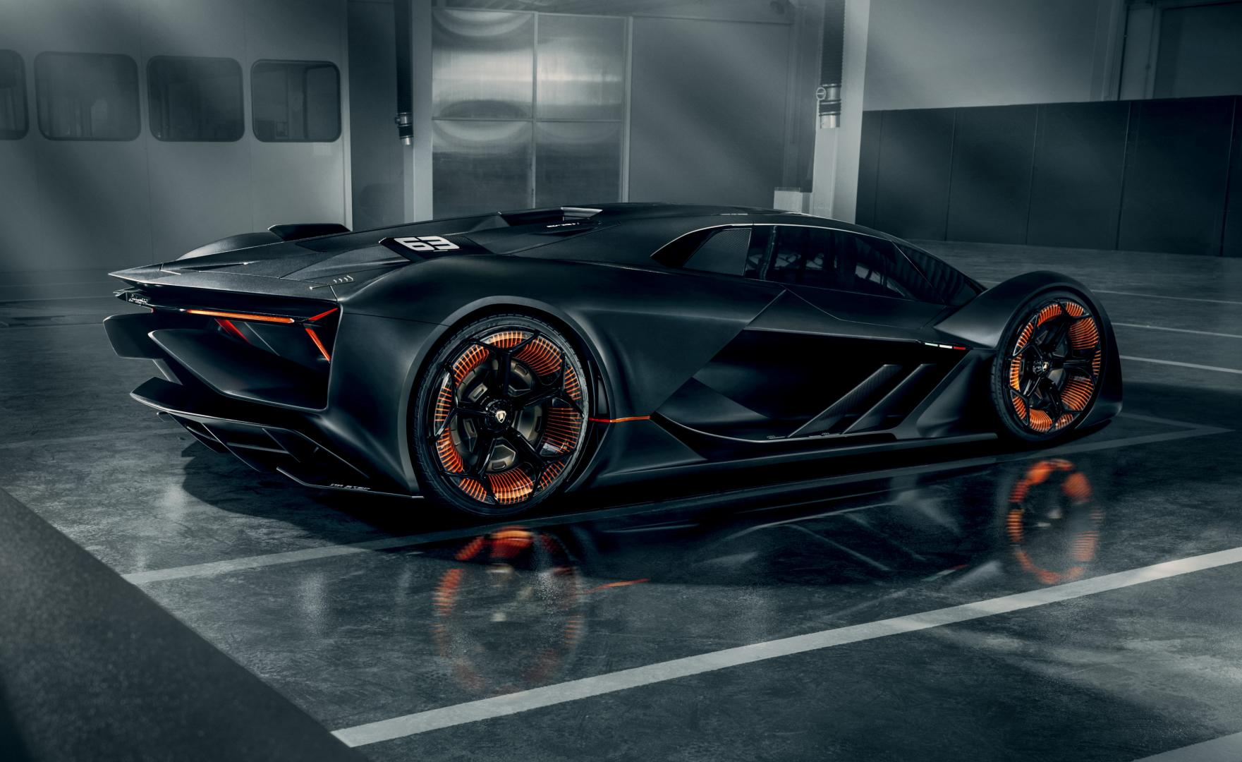 The All New Terzo Millennio Code Named Lb48h 840 Hp Hybrid