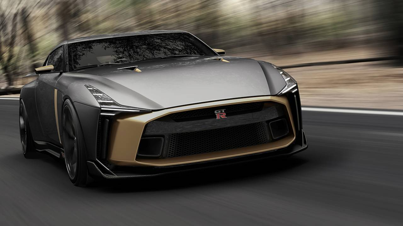 nissan gt r50 concept by italdesign could be the new gtr. Black Bedroom Furniture Sets. Home Design Ideas